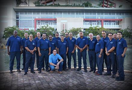 Universal Equipment Service Crew